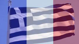 Drapeau-franco-grec